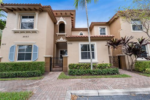 Photo of Listing MLS rx in 2923 Hope Valley Street #502 West Palm Beach FL 33411