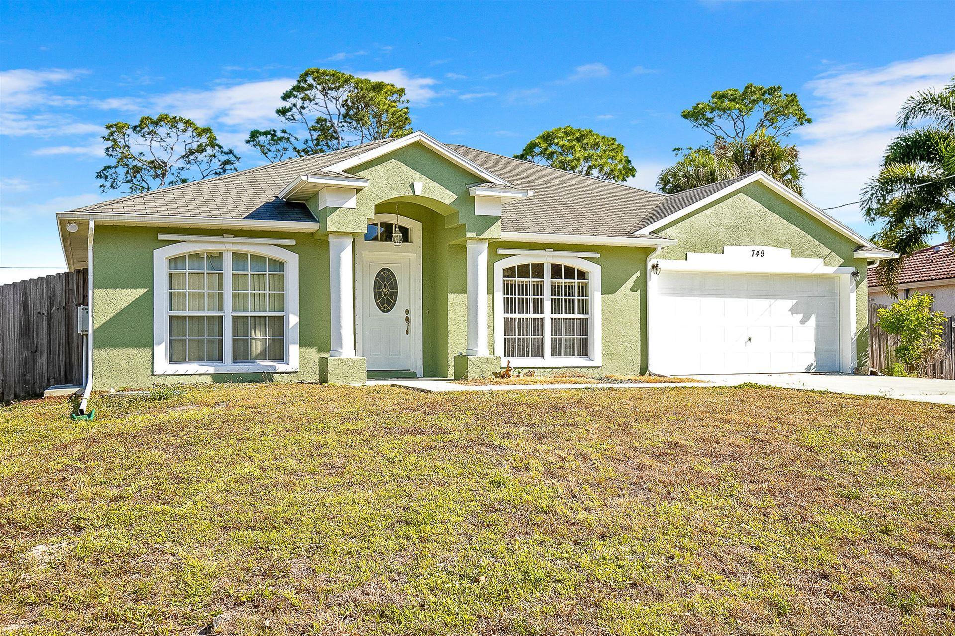 749 SW Hillsboro Circle, Port Saint Lucie, FL 34953 - #: RX-10705793
