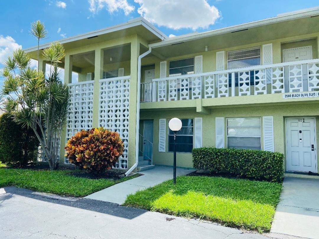 2500 Black Olive Boulevard #101, Delray Beach, FL 33445 - MLS#: RX-10750793