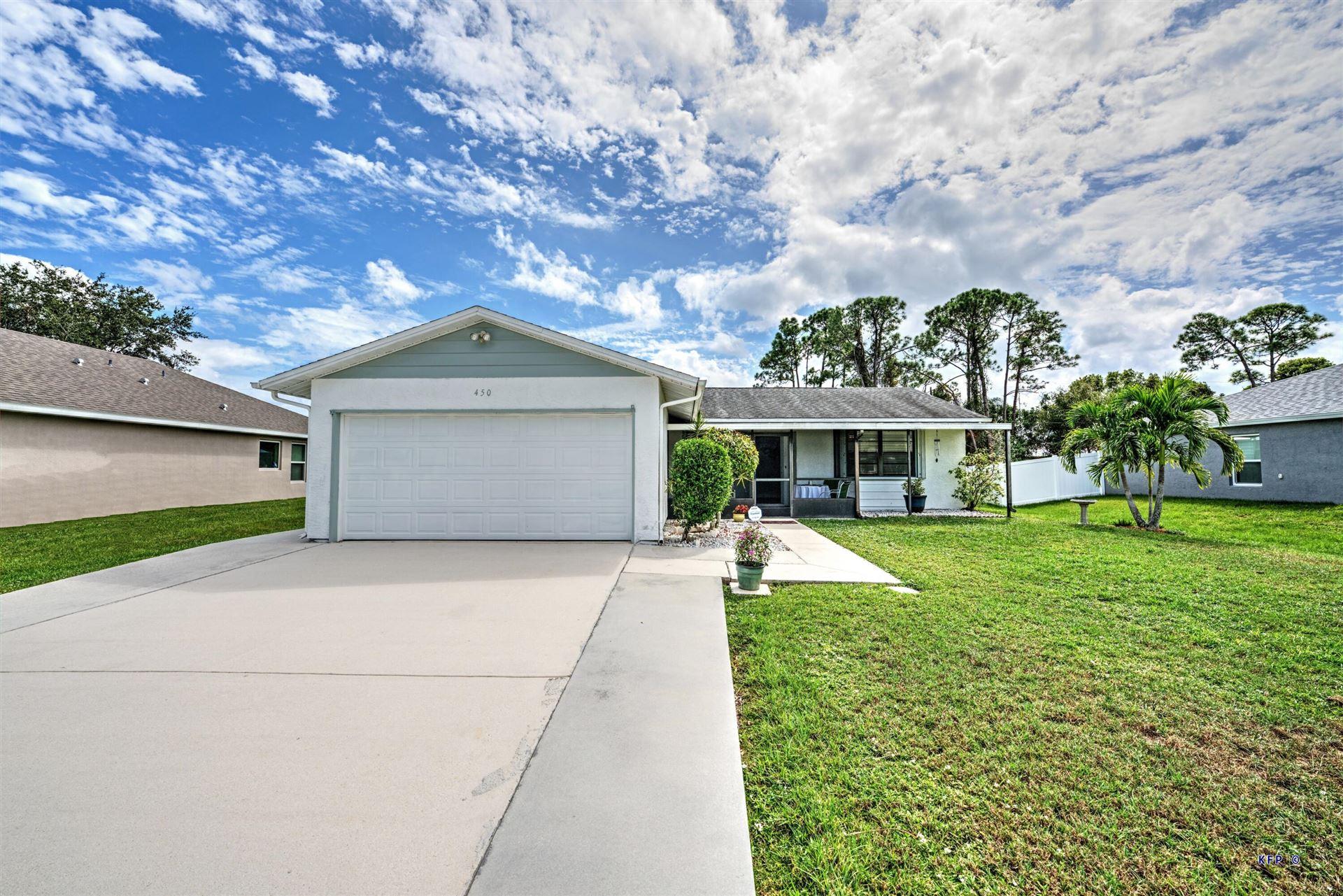 450 SE Karney Terrace, Port Saint Lucie, FL 34953 - MLS#: RX-10753793