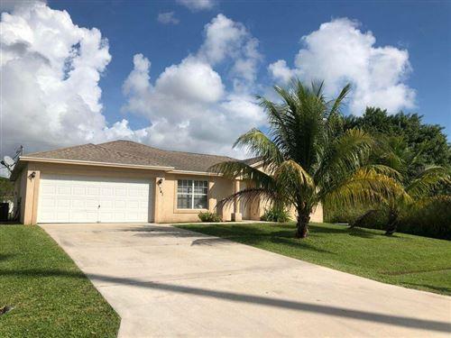 Photo of 741 SW Swan Avenue, Port Saint Lucie, FL 34983 (MLS # RX-10754796)