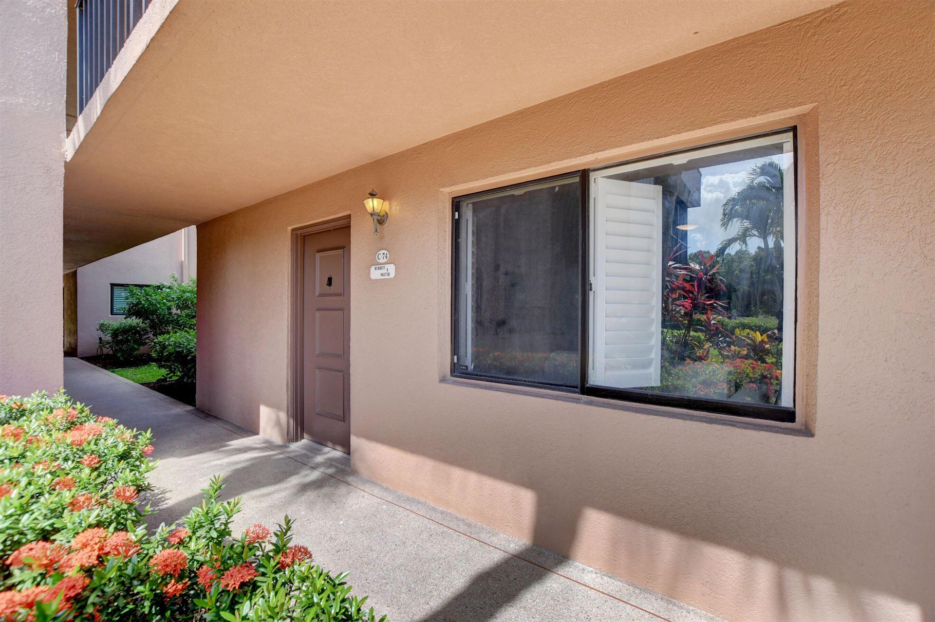 15054 Ashland Way #74, Delray Beach, FL 33484 - MLS#: RX-10732797
