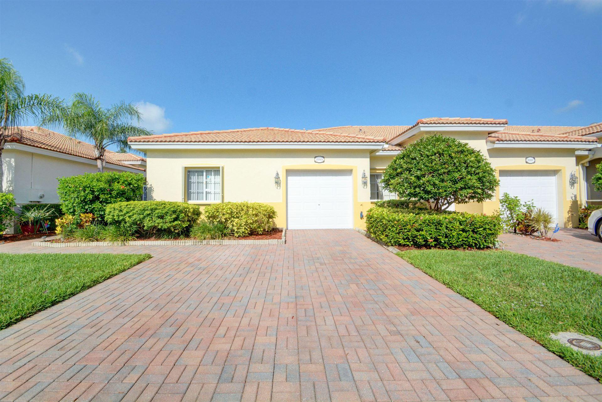 2353 Windjammer Way, Royal Palm Beach, FL 33411 - MLS#: RX-10744797