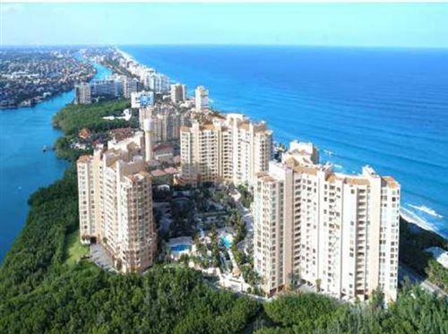 Photo of 3740 S Ocean Boulevard #1408, Highland Beach, FL 33487 (MLS # RX-10712798)