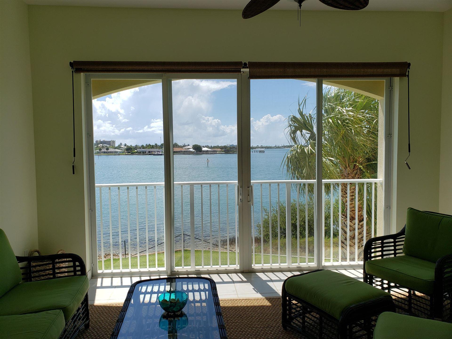 Photo of 3 Harbour Isle Drive E #203, Fort Pierce, FL 34949 (MLS # RX-10683798)
