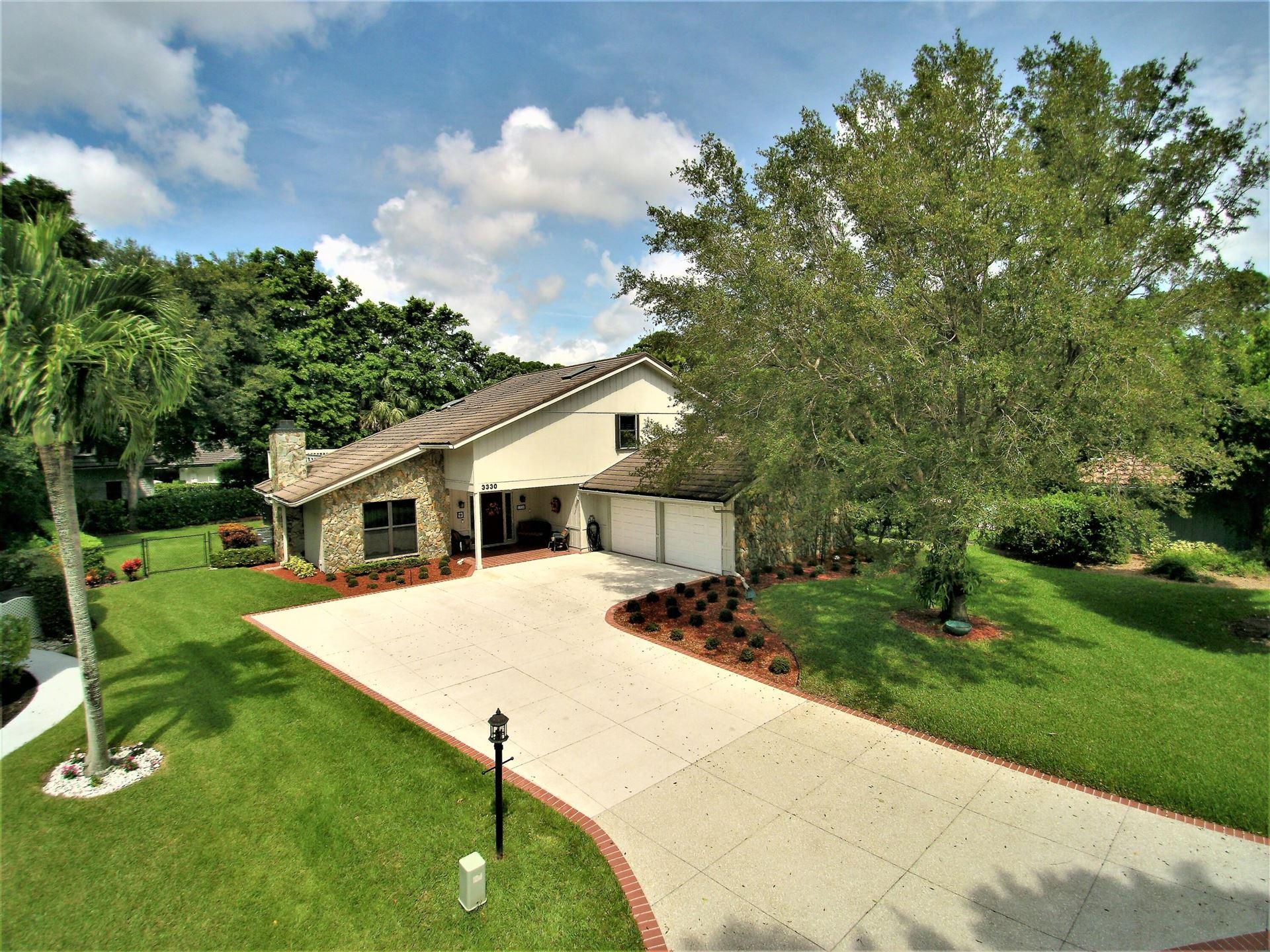 3330 Pine Hill Trail, Palm Beach Gardens, FL 33418 - MLS#: RX-10744798