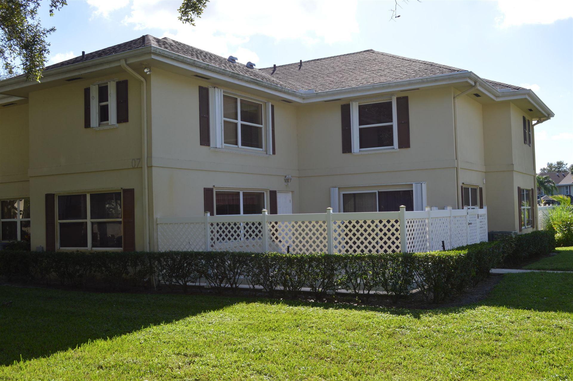 7 Amherst Court #A, Royal Palm Beach, FL 33411 - #: RX-10671799
