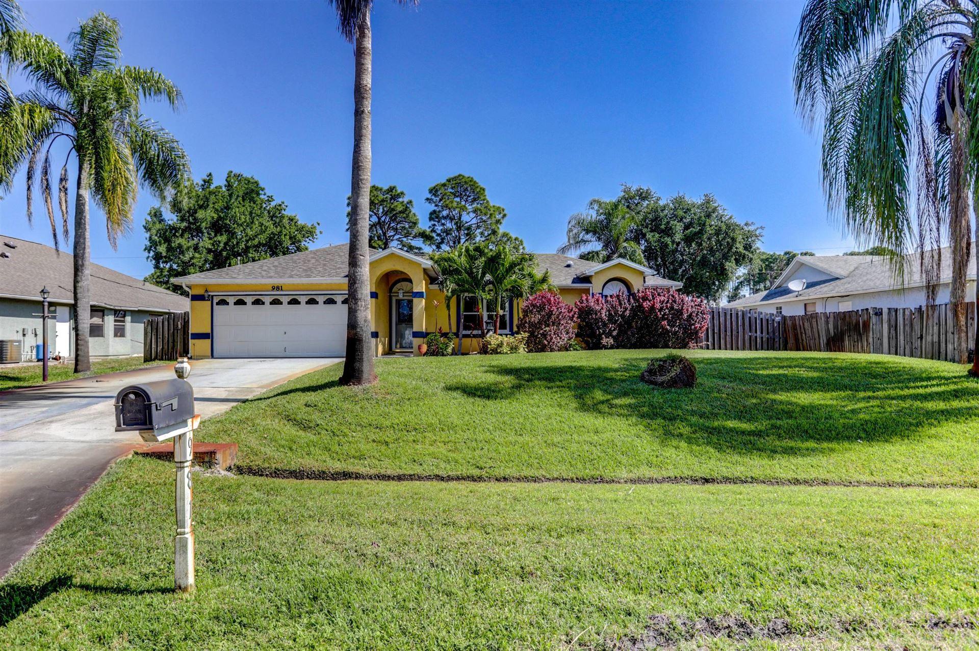 981 SW Consolata Avenue, Port Saint Lucie, FL 34953 - #: RX-10706799