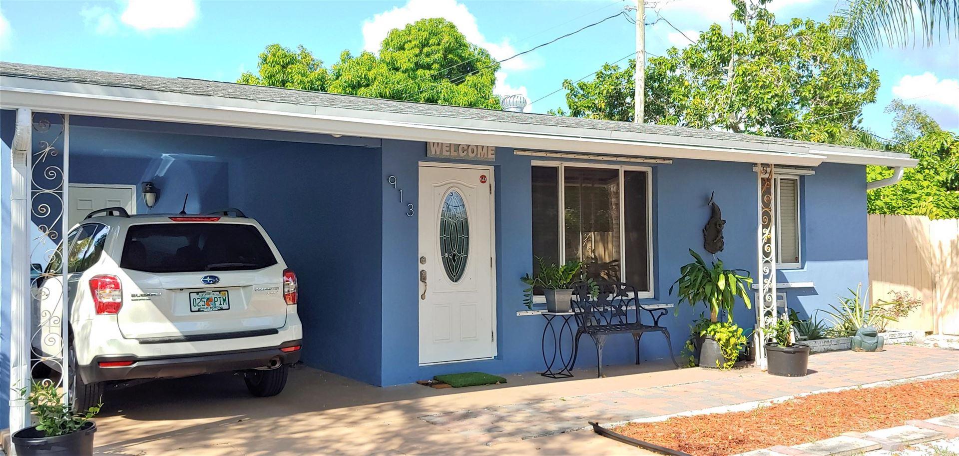 913 Avon Road, West Palm Beach, FL 33401 - #: RX-10735801