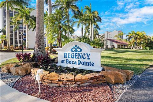 Photo of 7564 Regency Lake Drive #502, Boca Raton, FL 33433 (MLS # RX-10678803)