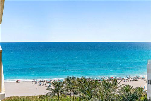 Photo of 3400 N Ocean Drive #1004, Singer Island, FL 33404 (MLS # RX-10709803)