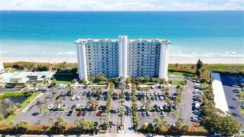 Photo of 9940 S Ocean Drive #708, Jensen Beach, FL 34957 (MLS # RX-10731803)