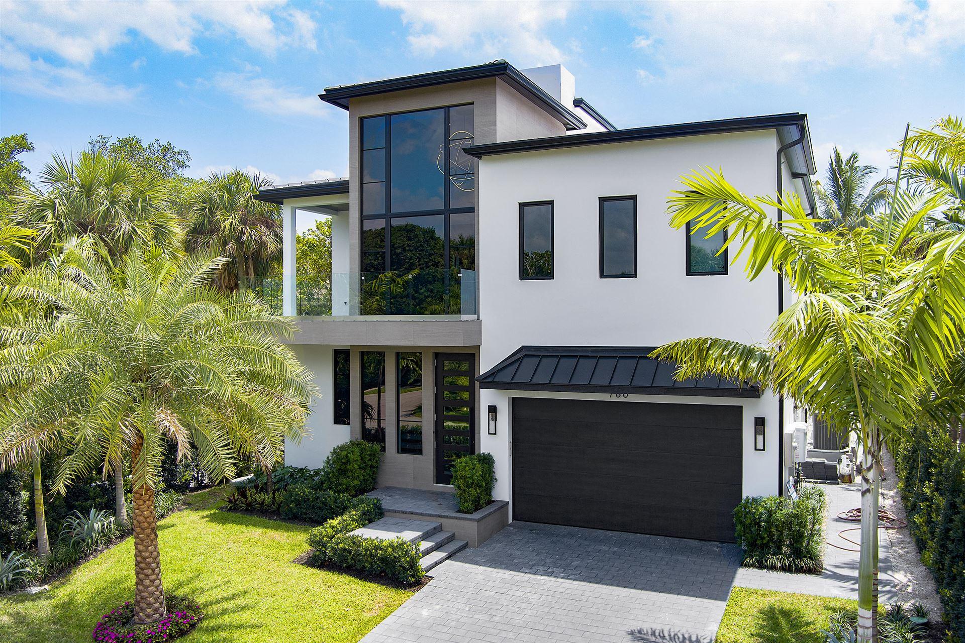 760 Palm Avenue W, Boca Raton, FL 33432 - MLS#: RX-10650803