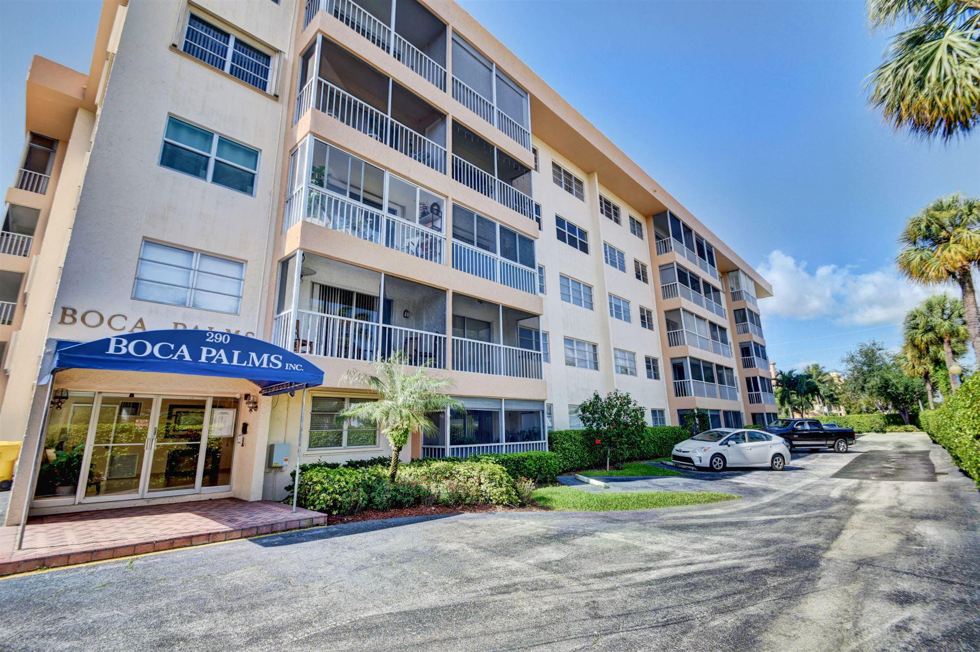 290 W Palmetto Park Road #504, Boca Raton, FL 33432 - MLS#: RX-10744806