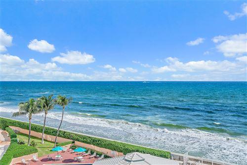 Photo of 3600 S Ocean Boulevard #504, South Palm Beach, FL 33480 (MLS # RX-10719807)