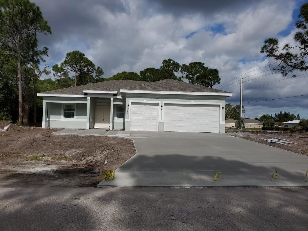 107 SW Voltair Terrace, Port Saint Lucie, FL 34984 - #: RX-10683807