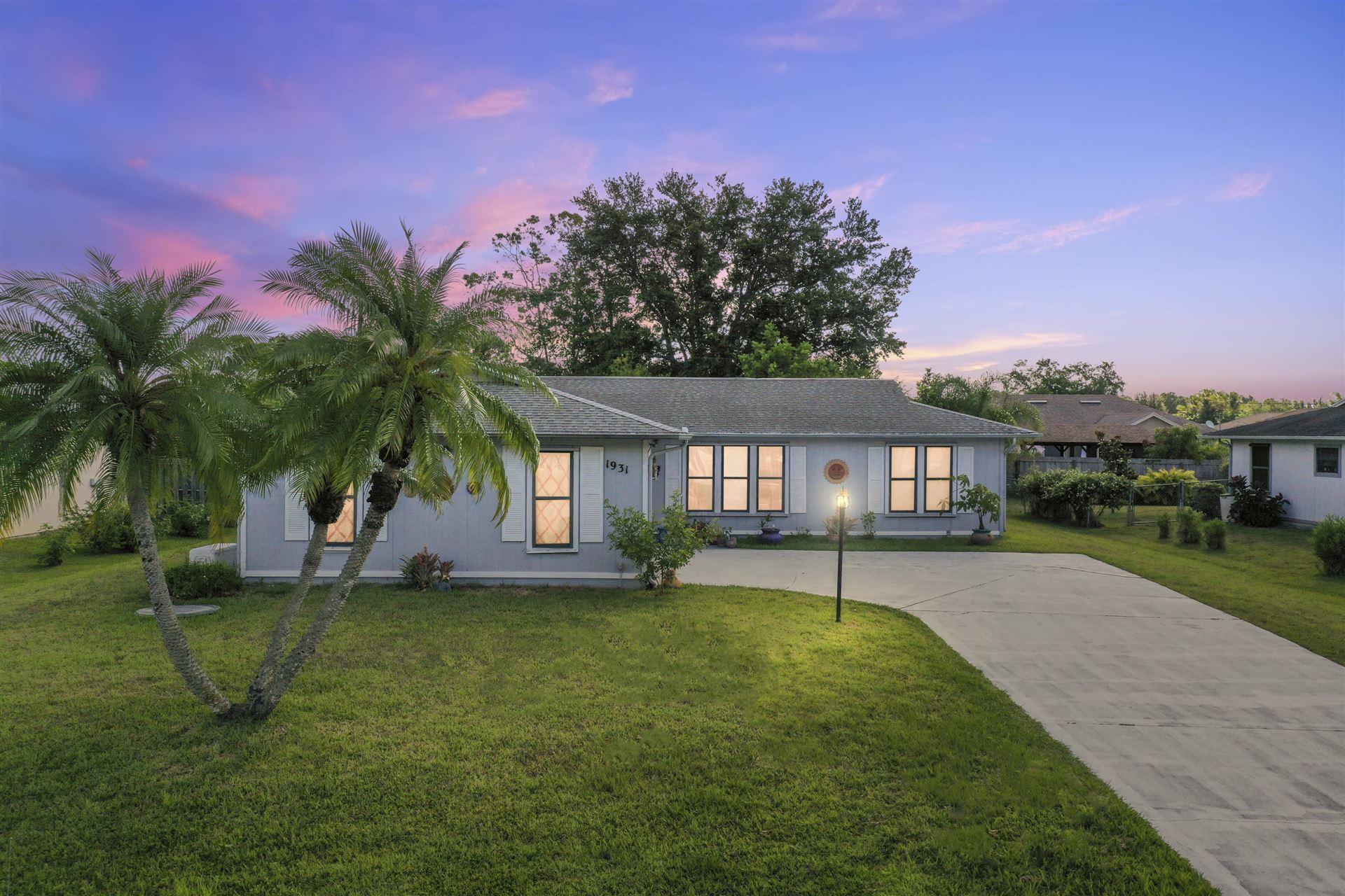 1931 SW Sylvester Lane, Port Saint Lucie, FL 34984 - MLS#: RX-10715810
