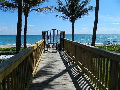 Photo of Listing MLS rx in 3420 S Ocean Boulevard #8n Highland Beach FL 33487