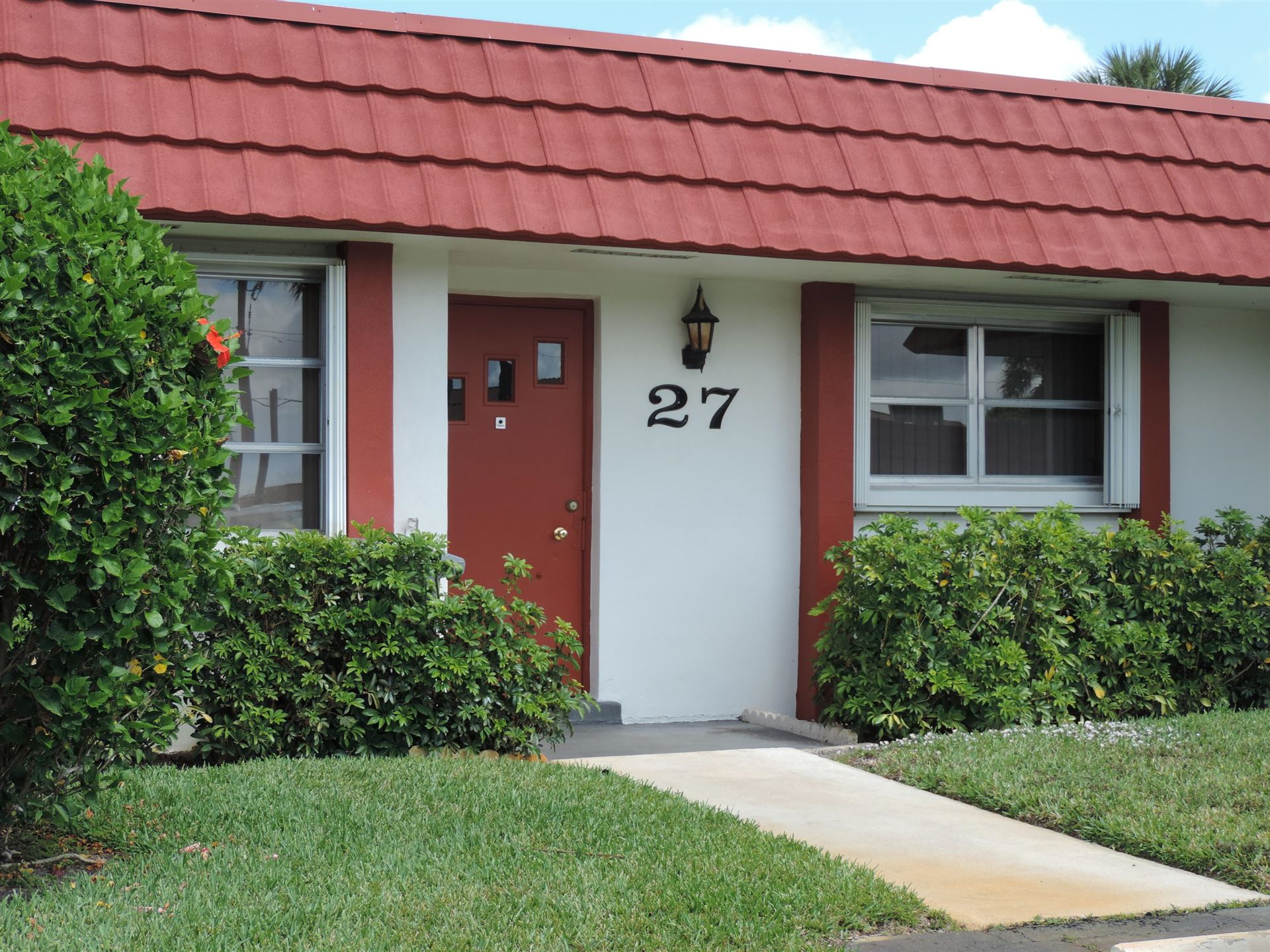 5800 Fernley Drive W #27, Greenacres, FL 33415 - #: RX-10611811
