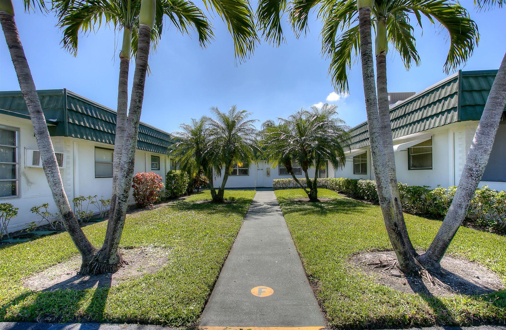 125 Waterford F, Delray Beach, FL 33446 - MLS#: RX-10695811