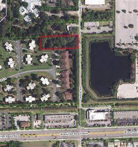 Foto de inmueble con direccion Lot Knuth Road Boynton Beach FL 33436 con MLS RX-10561812