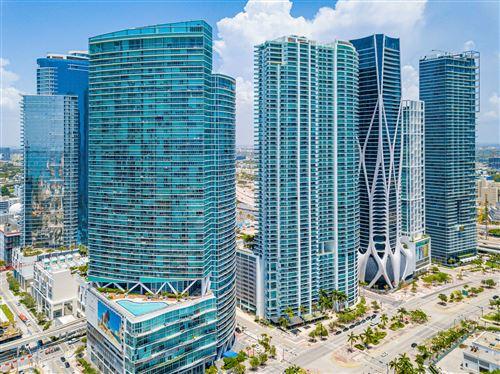 Photo of 888 Biscayne Boulevard #4707, Miami, FL 33132 (MLS # RX-10624813)