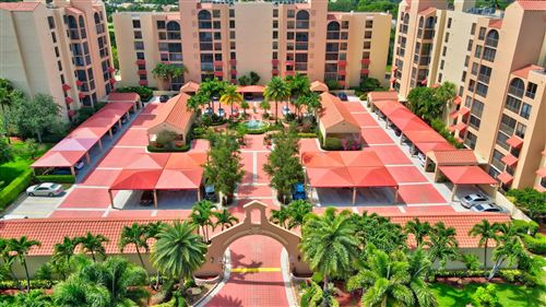 Photo of 7129 Promenade Drive #302, Boca Raton, FL 33433 (MLS # RX-10725813)