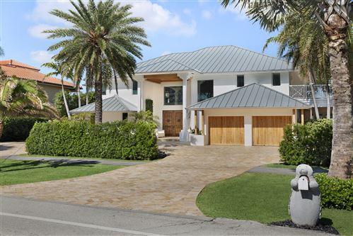 Photo of 2540 S Ocean Boulevard, Highland Beach, FL 33487 (MLS # RX-10524814)