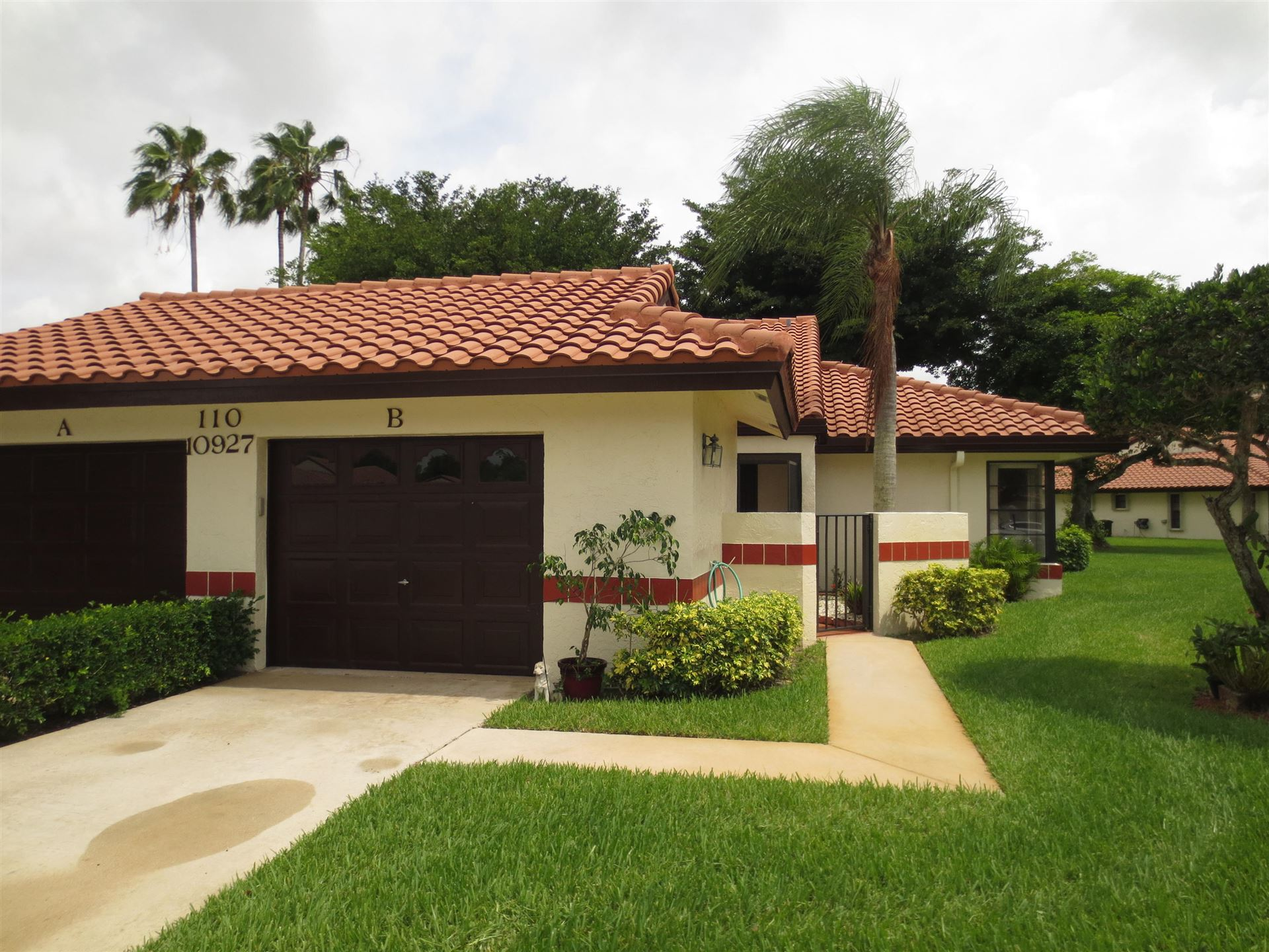 10927 Dolphin Palm Court #B, Boynton Beach, FL 33437 - #: RX-10610814
