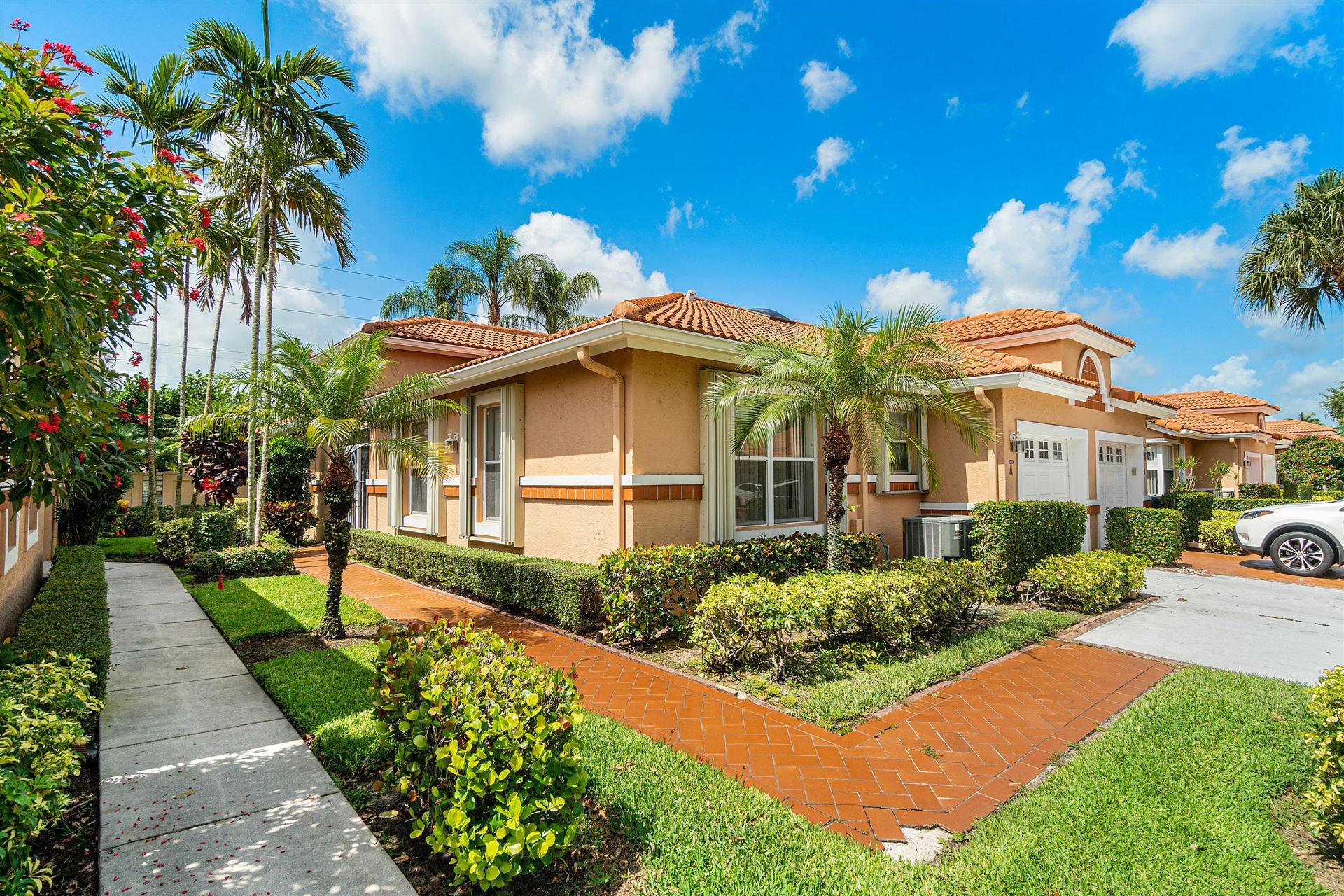 9856 Summerbrook Terrace #A, Boynton Beach, FL 33437 - #: RX-10624816
