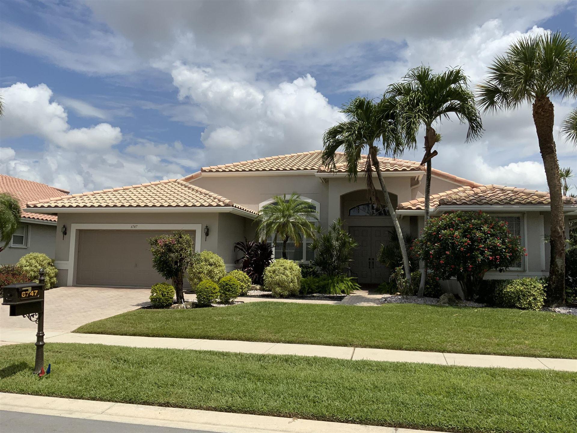 6747 Chimere Terrace, Boynton Beach, FL 33437 - #: RX-10712816