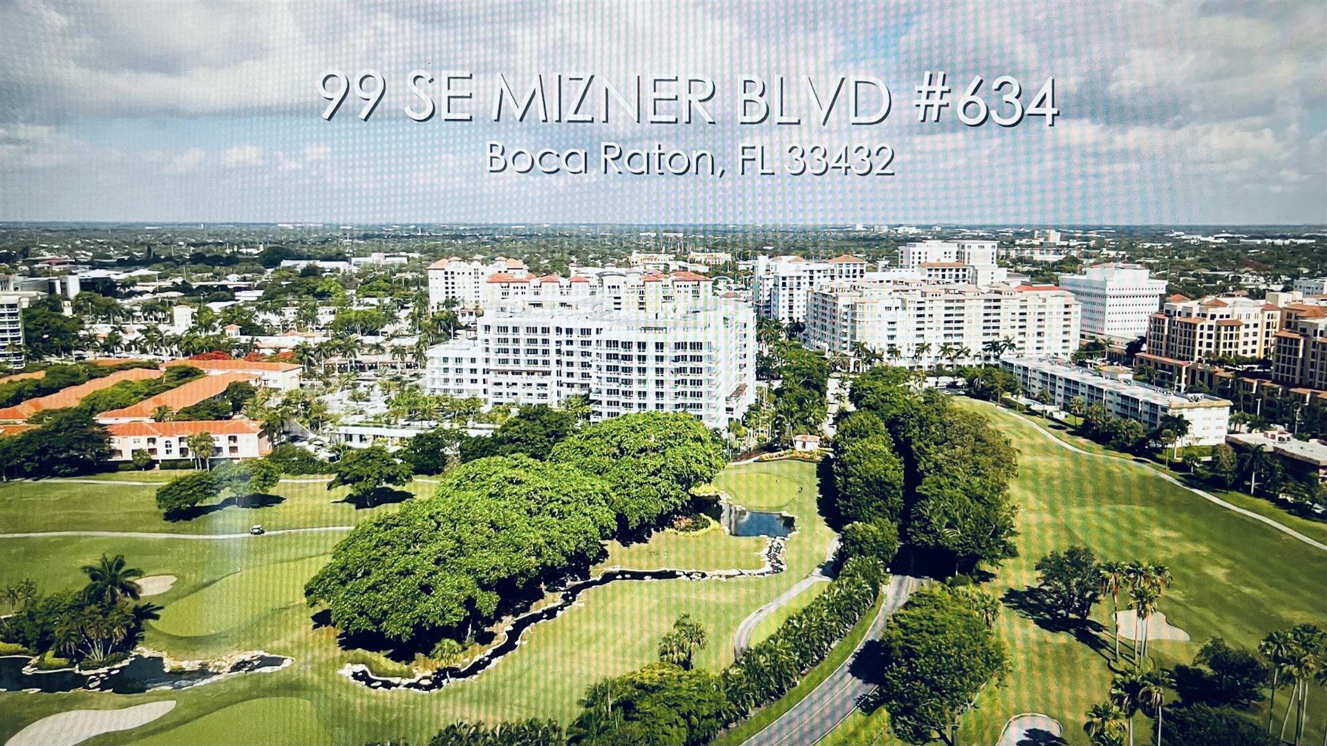99 SE Mizner Boulevard #634, Boca Raton, FL 33432 - MLS#: RX-10660817