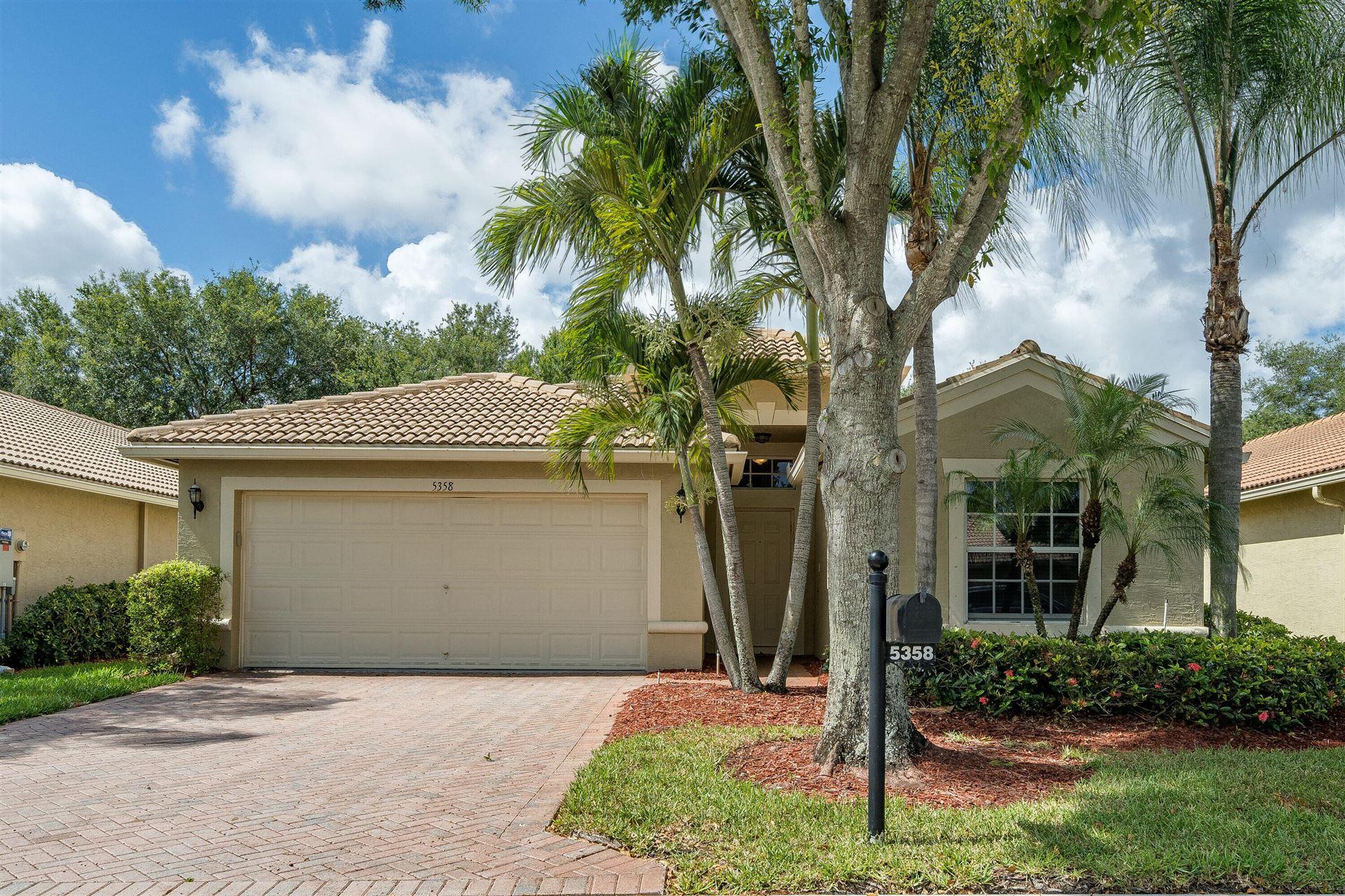 5358 Vernio Lane, Boynton Beach, FL 33437 - #: RX-10724818