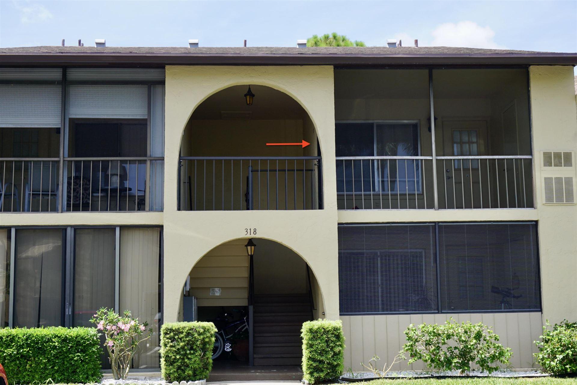 318 Pine Ridge Circle #D-2, Greenacres, FL 33463 - #: RX-10634819