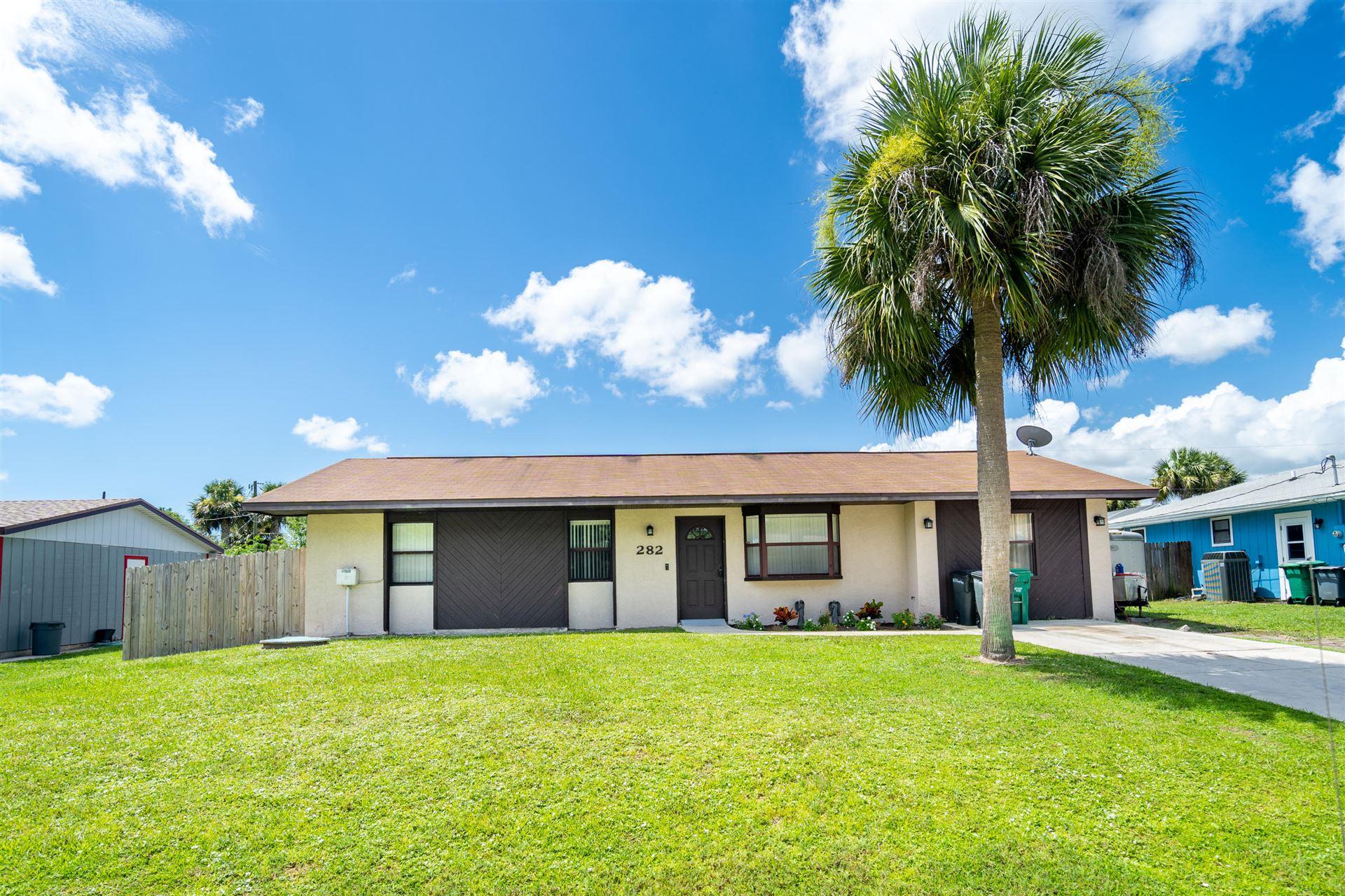282 SE Grove Avenue, Port Saint Lucie, FL 34983 - #: RX-10643819