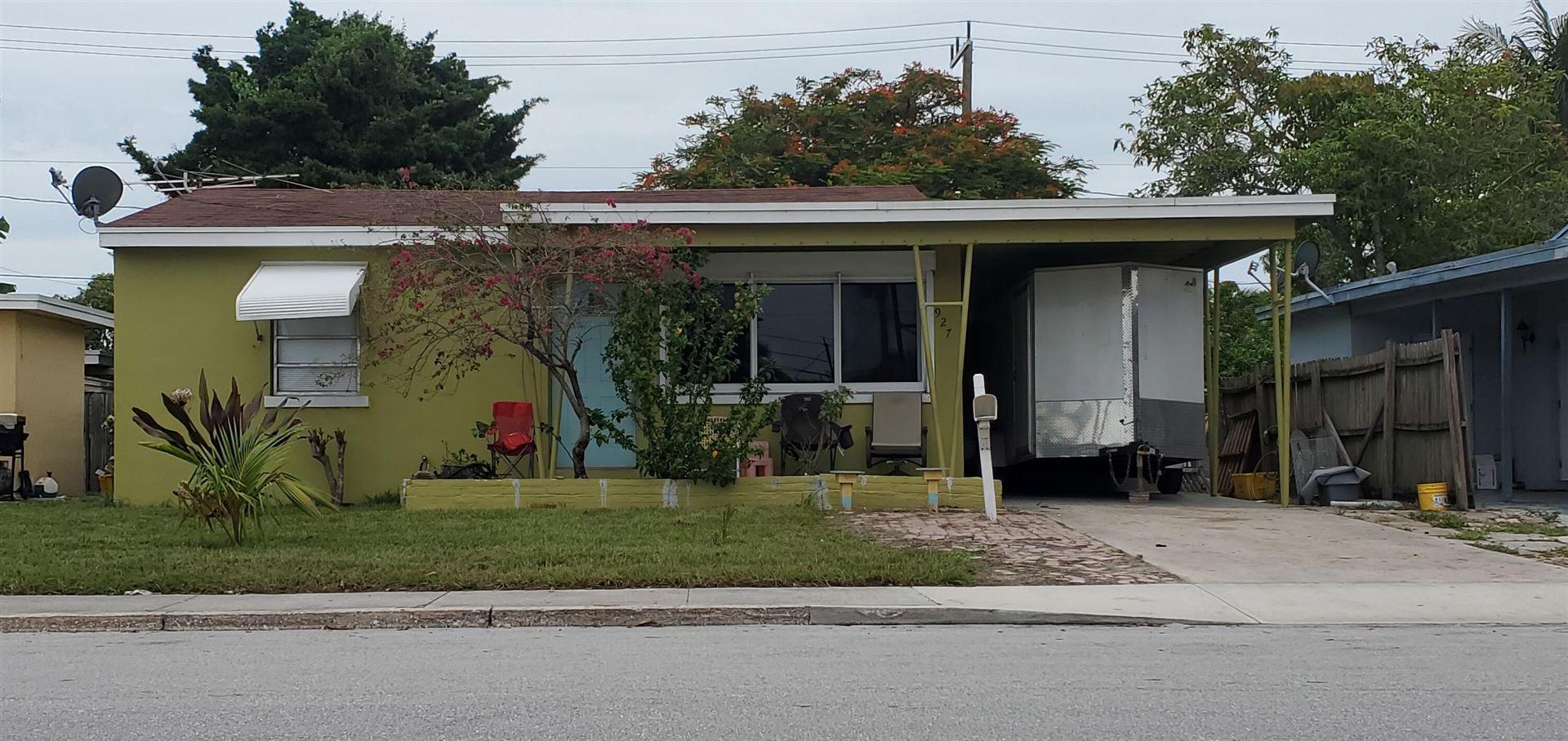 927 S E Street, Lake Worth, FL 33460 - MLS#: RX-10729820