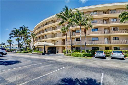 Photo of 3605 S Ocean Boulevard #116, South Palm Beach, FL 33480 (MLS # RX-10739826)
