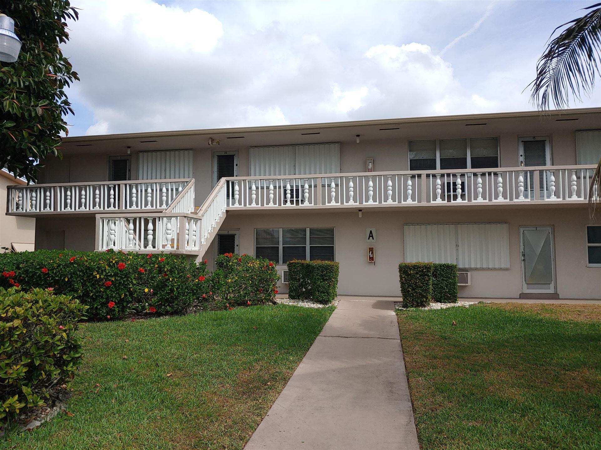 2 Easthampton A, West Palm Beach, FL 33417 - MLS#: RX-10703826