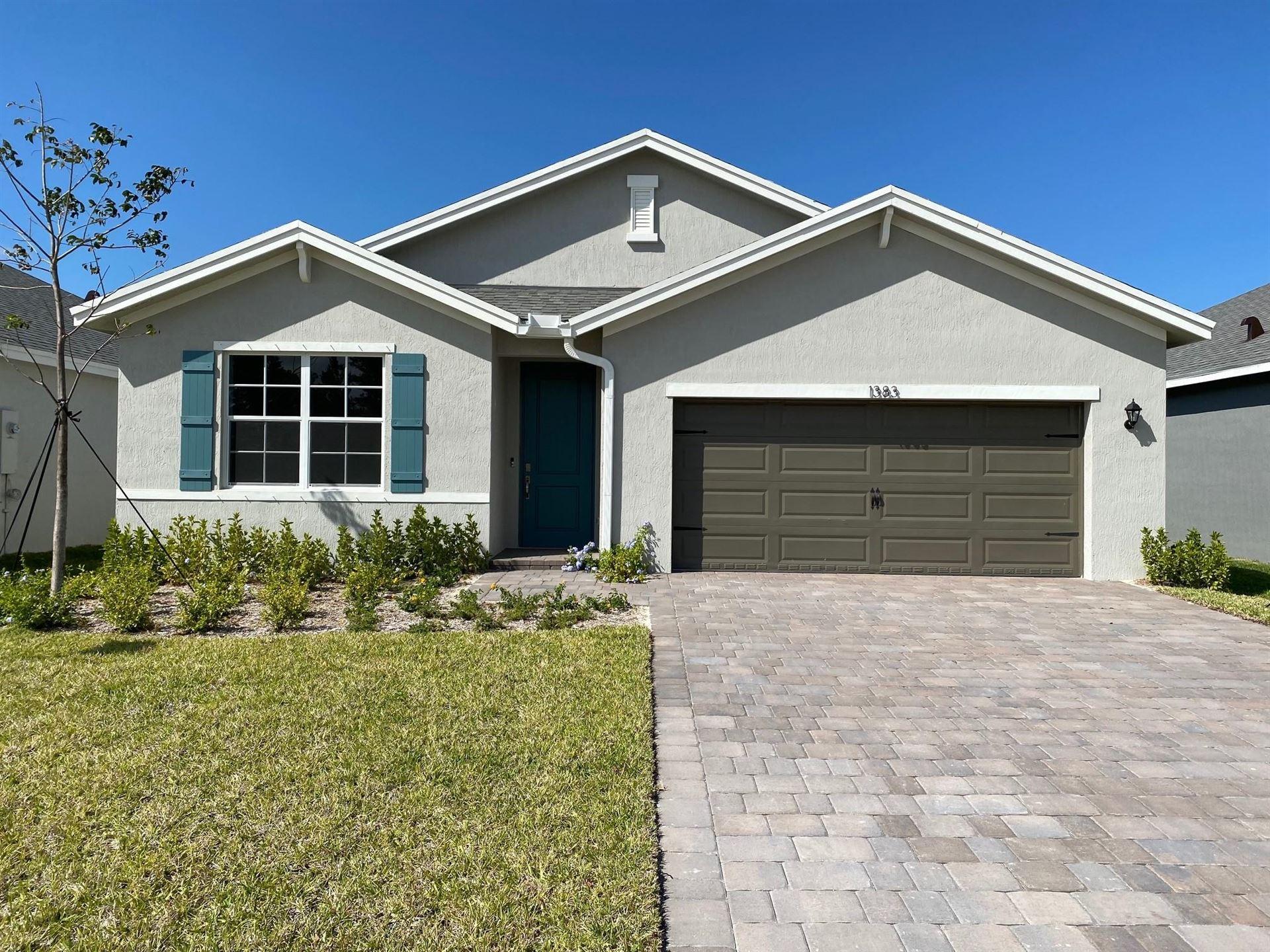 1383 NE White Pine Terrace, Jensen Beach, FL 34957 - #: RX-10613827