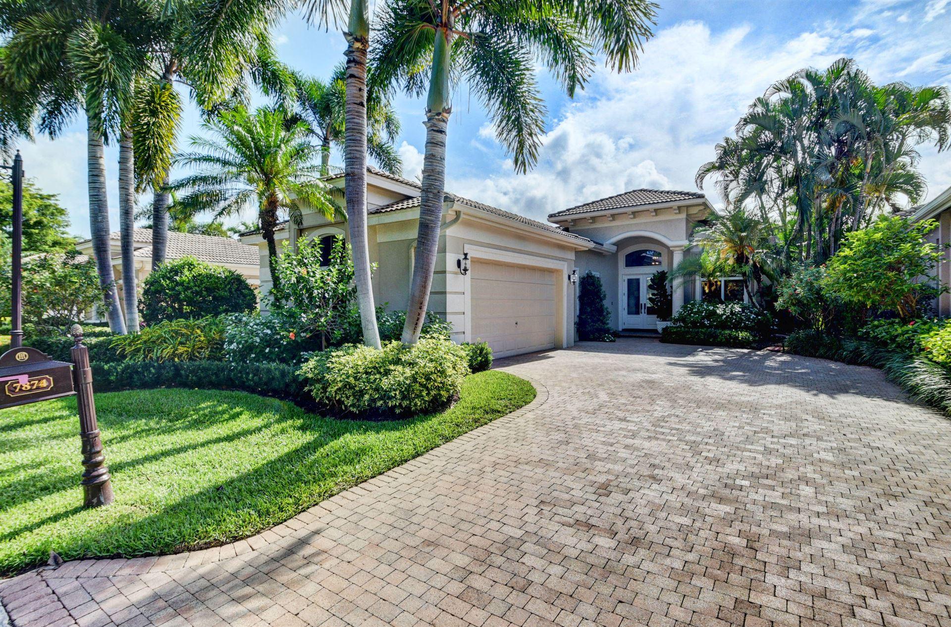 7874 Villa D Este Way, Delray Beach, FL 33446 - #: RX-10624827