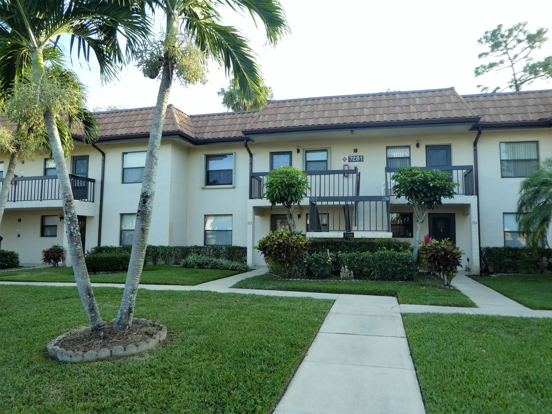7281 Golf Colony Court #203, Lake Worth, FL 33467 - MLS#: RX-10706827