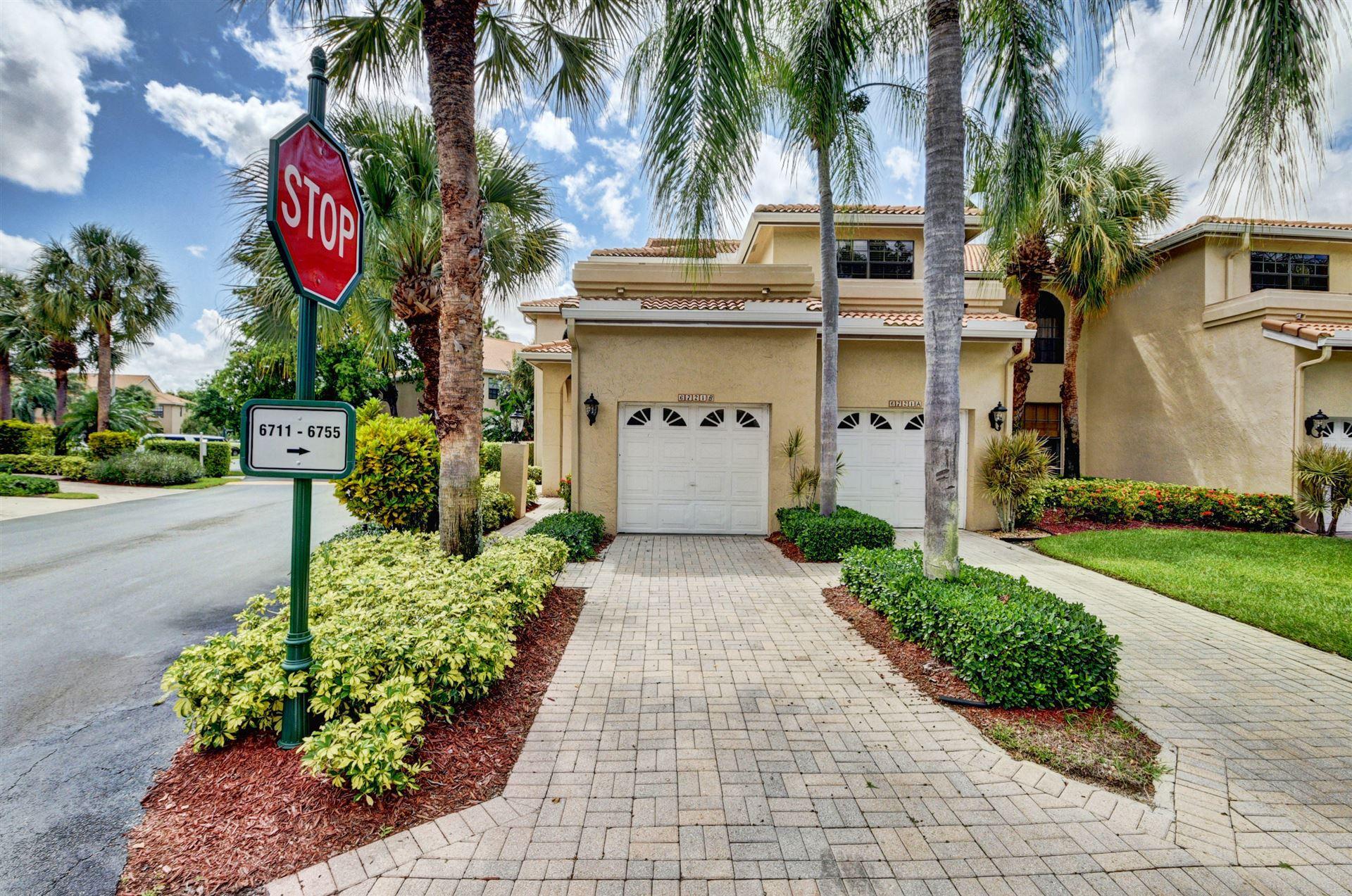 Photo of 6721 Montego Bay Boulevard #B, Boca Raton, FL 33433 (MLS # RX-10626831)