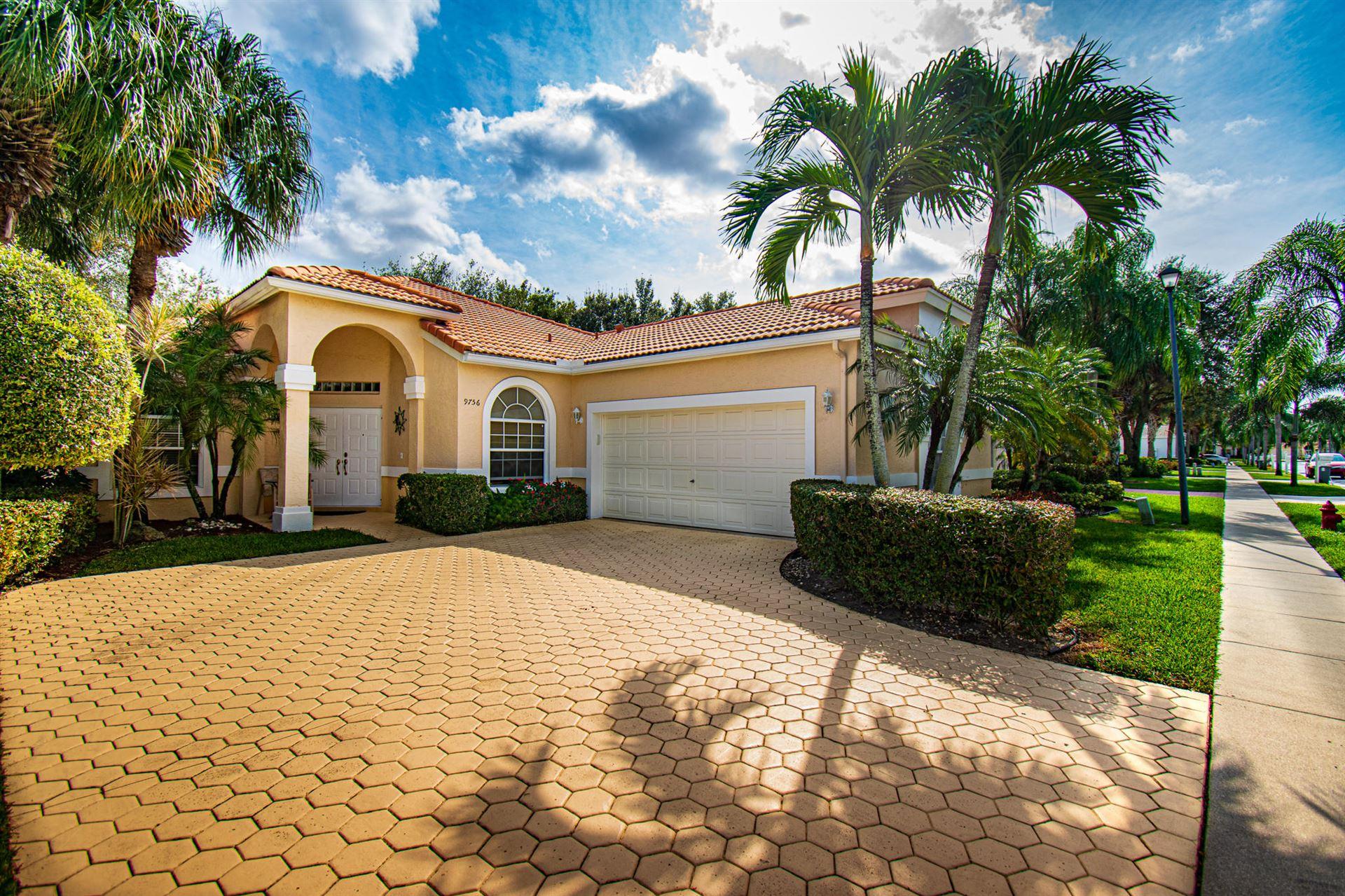 9756 Arbor View Drive S, Boynton Beach, FL 33437 - #: RX-10619833