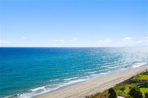 Photo of 4511 S Ocean Boulevard #605, Highland Beach, FL 33487 (MLS # RX-10690834)