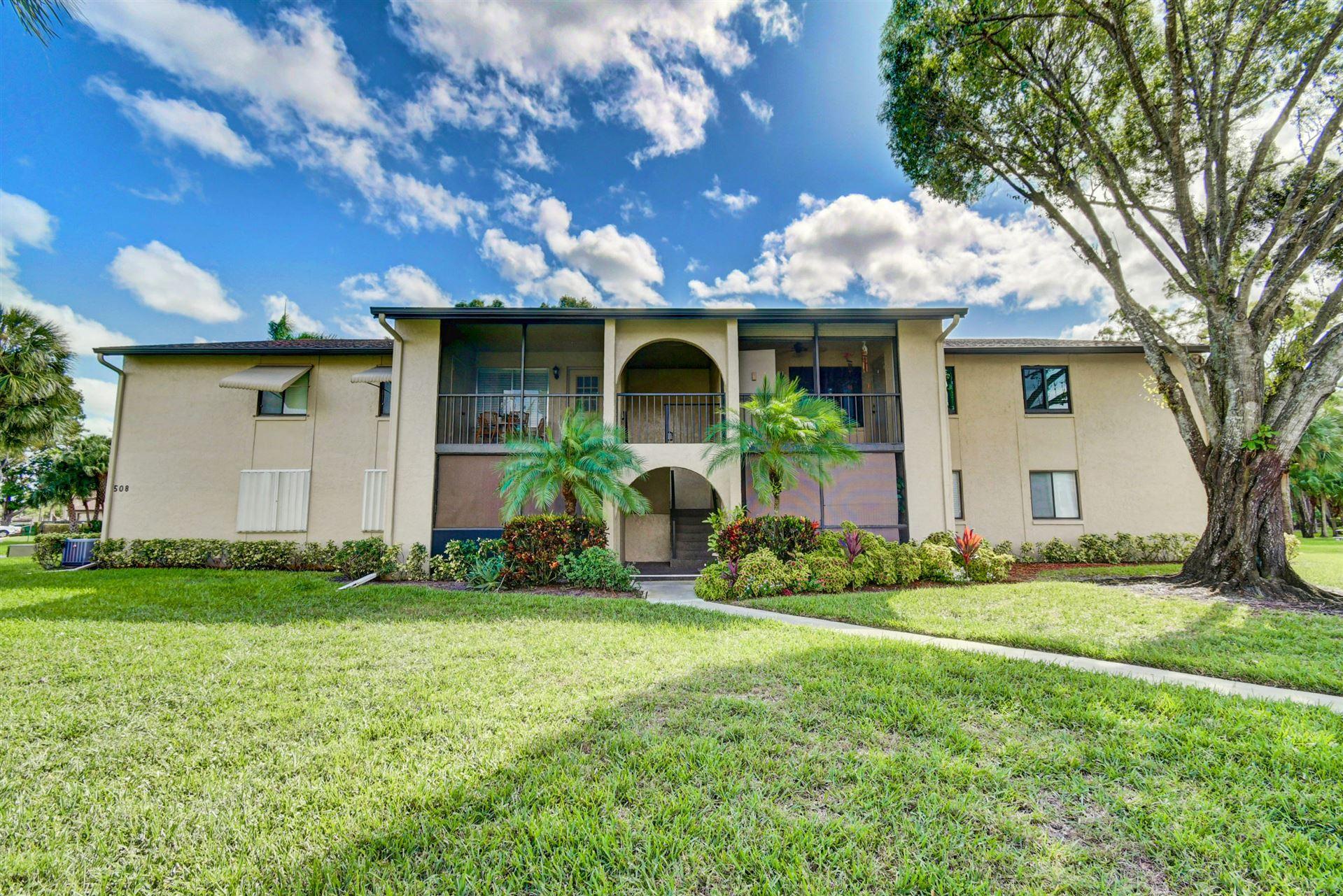 508 Shady Pine Way #D2, Greenacres, FL 33415 - #: RX-10668834