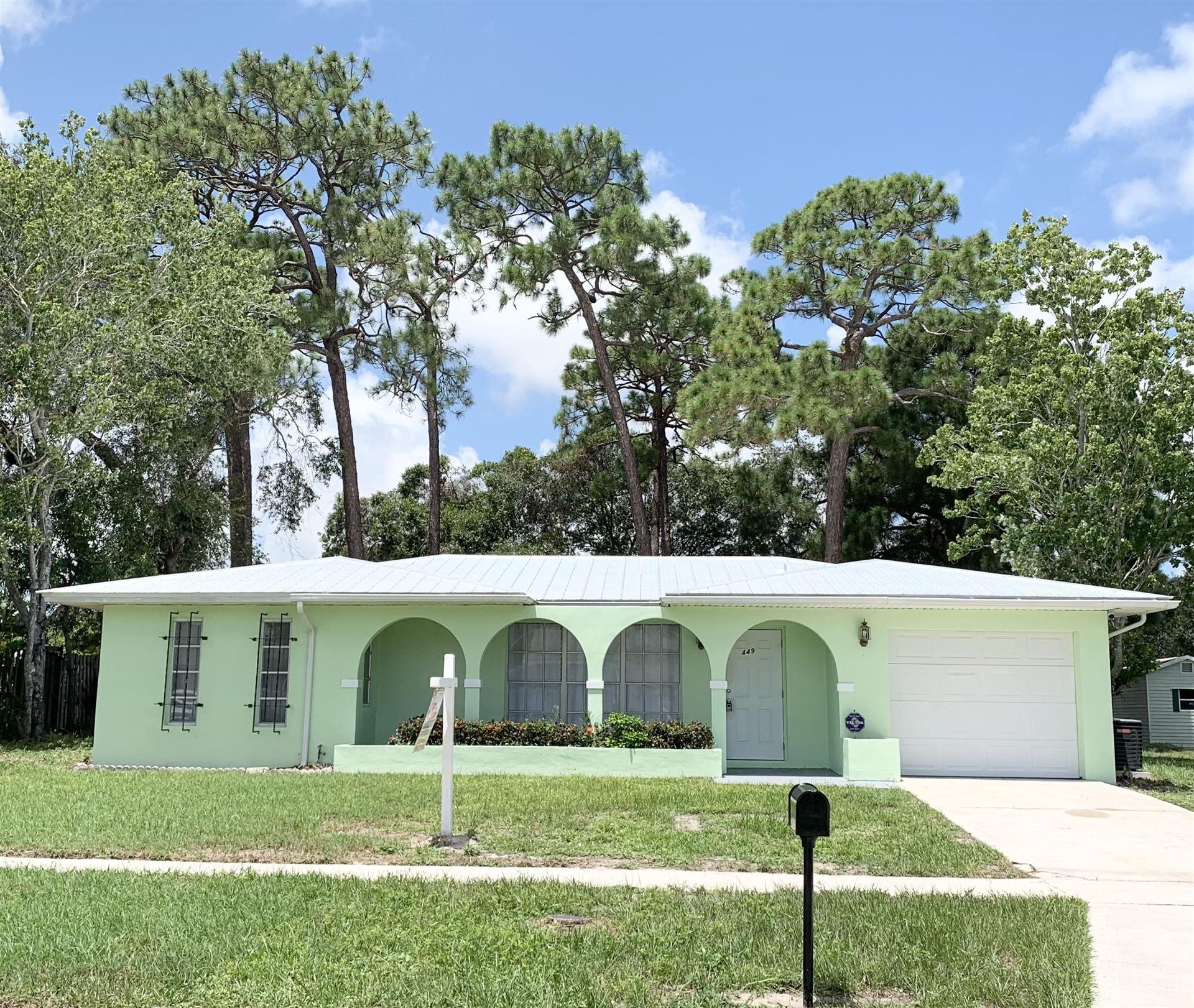 449 NE Electra Avenue, Port Saint Lucie, FL 34983 - #: RX-10739834