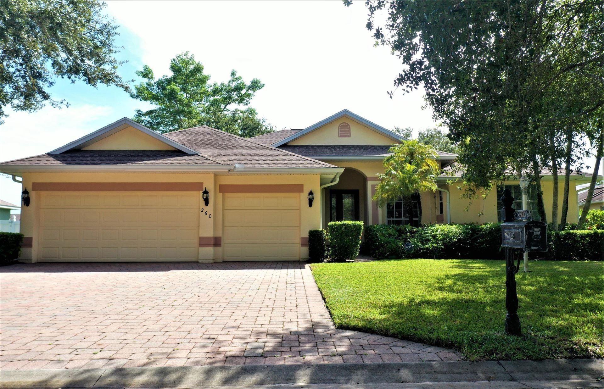 260 Champagne Court, Vero Beach, FL 32968 - #: RX-10658835