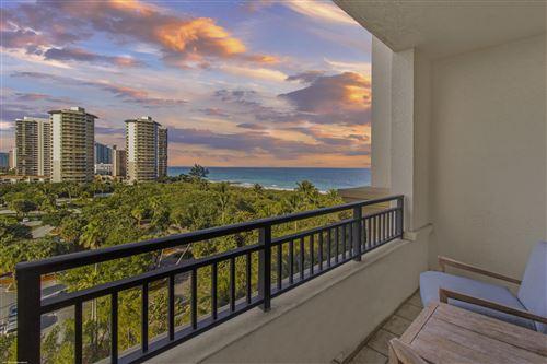 Photo of 3800 N Ocean Drive #805, Singer Island, FL 33404 (MLS # RX-10691836)