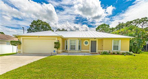 Photo of 2861 SW Oakner Street, Port Saint Lucie, FL 34953 (MLS # RX-10746836)