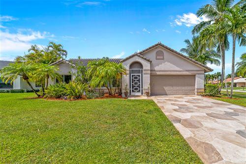 Photo of 10867 Cypress Bend Drive, Boca Raton, FL 33498 (MLS # RX-10742837)